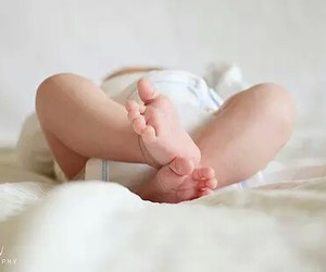 baby, newborn, and babyfoot image