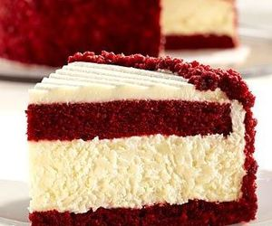 cake, food, and red velvet image