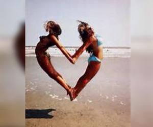 best friends, goals, and summer image