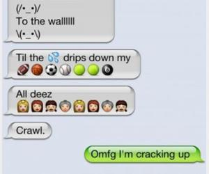 balls, funny, and funny text image