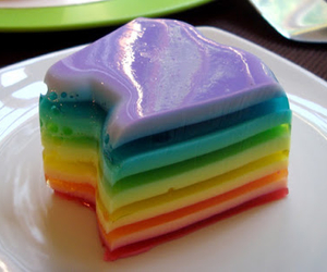 food, jelly, and multicolor image