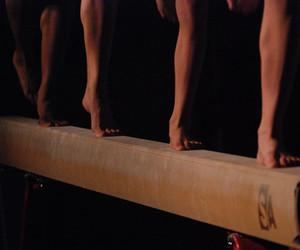 gymnastics and balance beam image