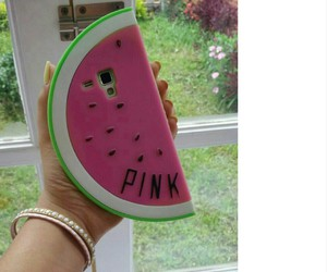 cases, watermelon, and pink image