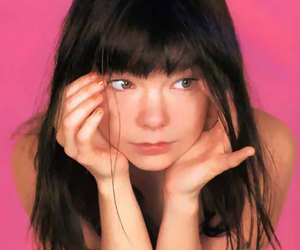bjork, music, and pink image