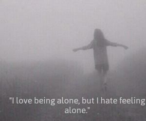 alone, lonely, and relax image