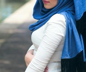 arabic, حجاب, and ﻋﺮﺑﻲ image