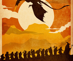 company, middle earth, and poster image