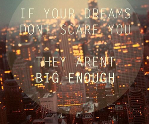 Dream, quotes, and city image