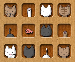 background, cats, and icons image