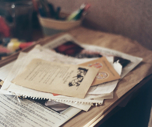 vintage, photography, and letters image