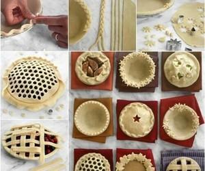 pie, diy, and cake image