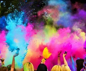 blue, colorful, and festival image