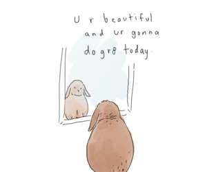 quotes, bunny, and great image