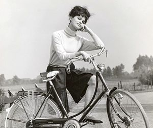 bicycle and claudia cardinale image