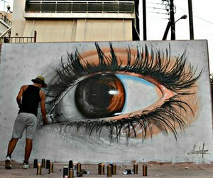 art, eye, and eyes image
