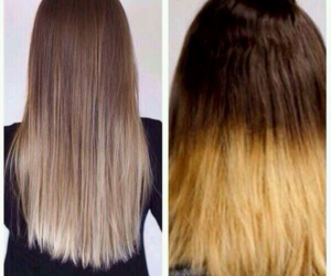 hair, funny, and ombre image