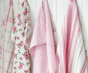 linens, ikea, and dish towels image