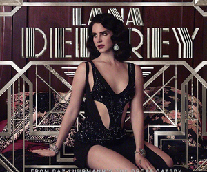 the great gatsby and lana del rey image
