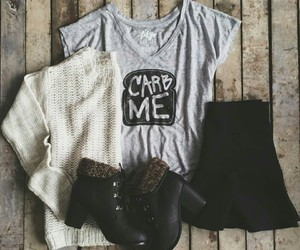 boots, want, and clothes image