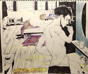 aot, levi ackerman, and draw image
