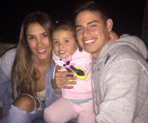 family, real madrid, and james rodriguez image
