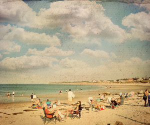 aged, bathing suits, and beach image