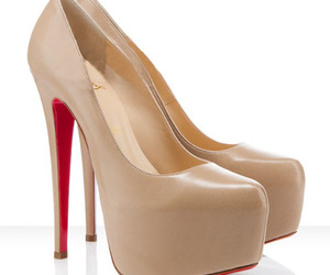 shoes, christian louboutin, and pumps image