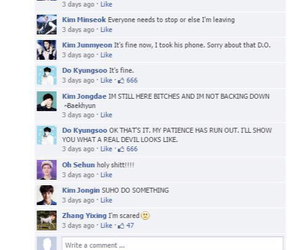 exo, funny, and jokes image