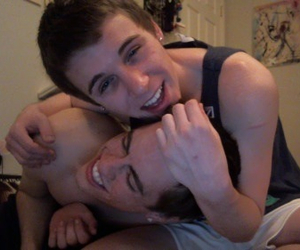 boys, cute, and couple image