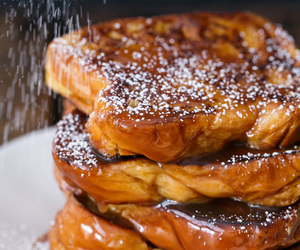 breakfast, dessert, and french toast image
