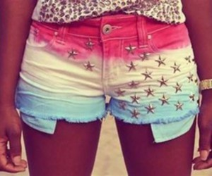 shorts, stars, and short image