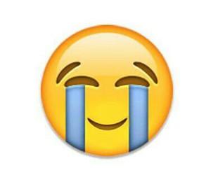 emoji and crying image