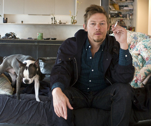 norman reedus, the walking dead, and dog image