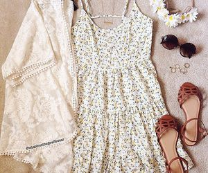 outfit, summer, and dress image
