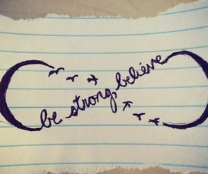 believe and infinity image