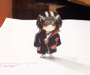 3d, chibi, and drawing image