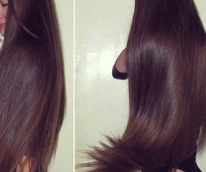brown, hair, and hairstyle image