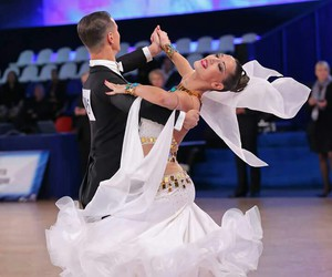 dance, dress, and partners image