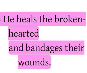 brokenhearted, god, and heal image