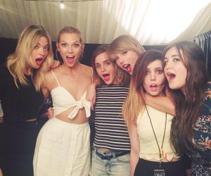 Taylor Swift, emma watson, and Karlie Kloss image