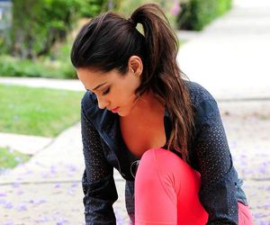 fitness, workout, and shay mitchell image