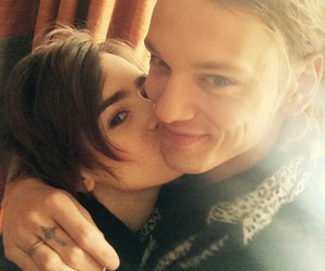 couple, fandoms, and Jamie Campbell Bower image