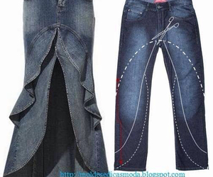 diy, blue, and jeans image