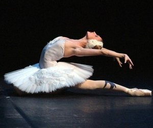 ballerina, ballet, and grace image
