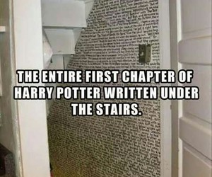 harry potter, first chapter, and love it image