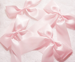 pink, pastel, and bow image