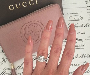 diamond, gucci, and nails image