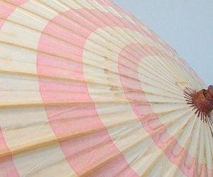 pink, summer, and umbrella image