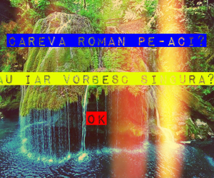 romania, waterfall, and bigar image