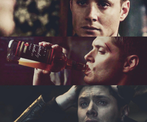 dean winchester, Jensen Ackles, and sad image